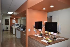 Moose & Squirrel Medical Clinic Open Team Workstations