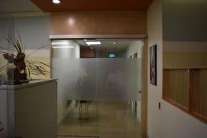Moose & Squirrel Medical Clinic Hallway